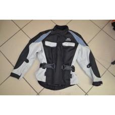 Куртка детская  серая с защитой спины